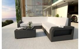 Designer Rattan Lounge Sofa MESIA CORNER V1