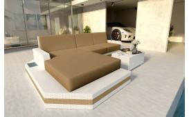 Designer Rattan Lounge Sofa MESIA MINI