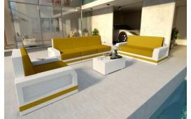 Designer Rattan Lounge Set MESIA 3+2+1 V2