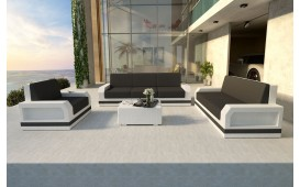 Designer Rattan Lounge Set MESIA 3+2+1 V2 von NATIVO™ Designer Möbel Österreich