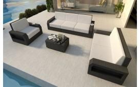 Designer Rattan Lounge Set MESIA 3+2+1 V1