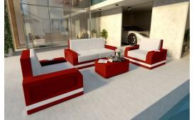 Designer Rattan Lounge Set MESIA 2+1+1