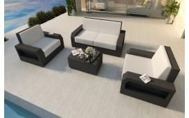 Designer Rattan Lounge Set MESIA 2+1+1 V1