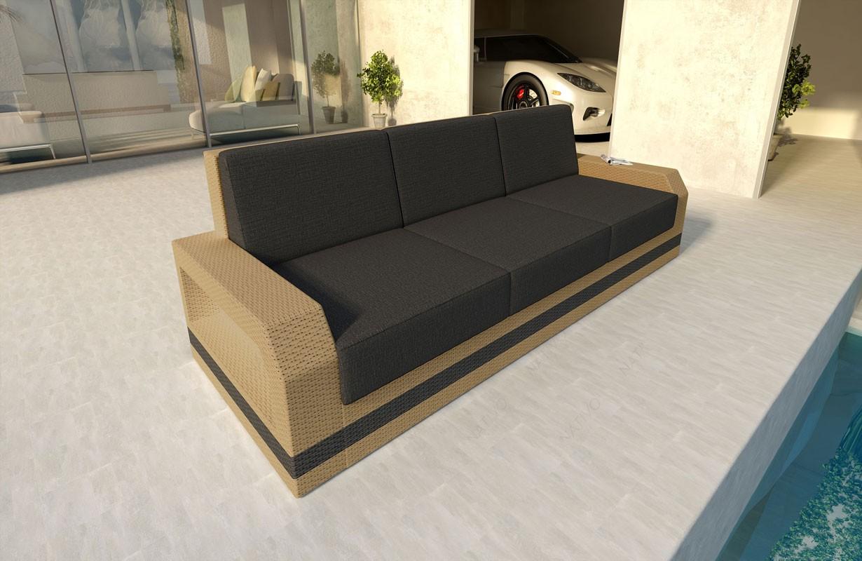 rattan sofa lounge mesia 3 sitzer v2 modular von nativo m bel wien. Black Bedroom Furniture Sets. Home Design Ideas