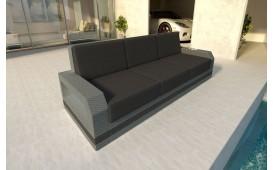 Designer Rattan Lounge Sofa MESIA 3 sitzer V2 von NATIVO™ Designer Möbel Österreich