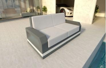 Rattan Sofa Lounge Mesia 2 Sitzer Modular Von Nativo Möbel Wien