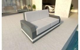 Designer Rattan Lounge Sofa MESIA 2 Sitzer