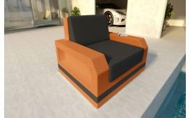 Designer Rattan Lounge Sofa MESIA 1 sitzer V2 von NATIVO™ Designer Möbel Österreich