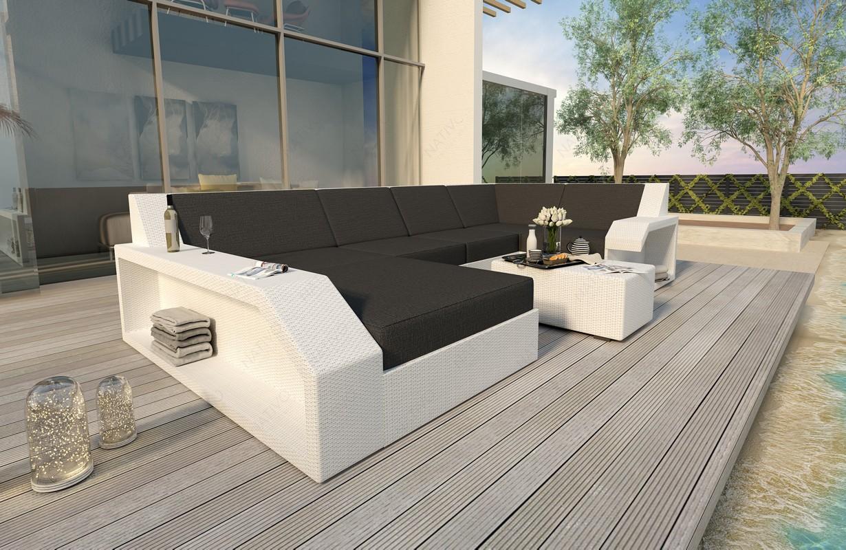 Rattan Sofa Lounge Matis Xl Modular Von Nativo Möbel Wien