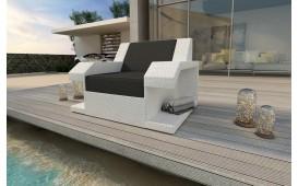 Designer Rattan Lounge Sofa MATIS 1 Sitzer