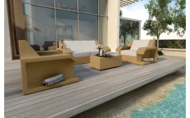 Designer Rattan Lounge Set MATIS 2+1+1 von NATIVO™ Möbel Österreich
