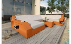 Designer Rattan Lounge Sofa MATIS XXL von NATIVO™ Möbel Österreich