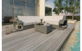 Designer Rattan Lounge Sofa MATIS CORNER