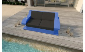 Designer Rattan Lounge Sofa MATIS 2 Sitzer von NATIVO™ Möbel Österreich