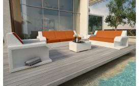 Designer Rattan Lounge Set MATIS 3+2+1 von NATIVO™ Möbel Österreich