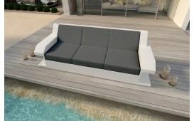 Designer Rattan Lounge Sofa MATIS 3 Sitzer von NATIVO™ Möbel Österreich