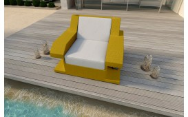 Designer Rattan Lounge Sofa MATIS 1 Sitzer von NATIVO™ Möbel Österreich