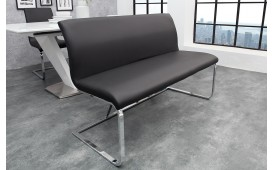 Designer Polsterbank SUMMER BLACK 130 cm