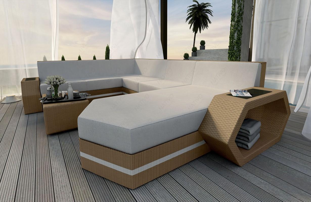 Rattan Sofa Lounge Clermont Xxl Modular Von Nativo Möbel Wien