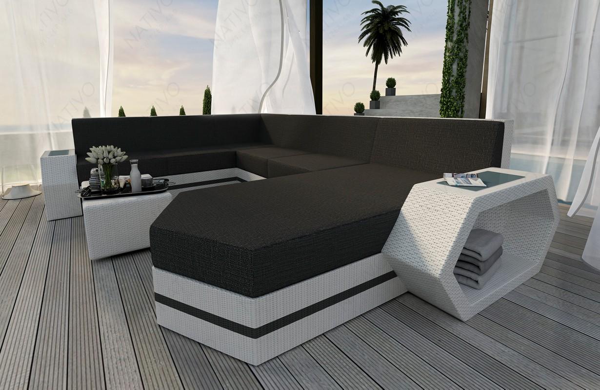 Rattan Sofa Lounge Clermont Xxl Modular Von Nativo Mobel Wien