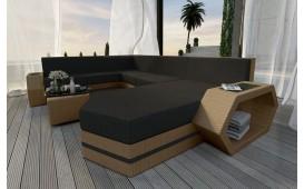 Designer Rattan Lounge Sofa CLERMONT XXL V2 von NATIVO™ Möbel Österreich