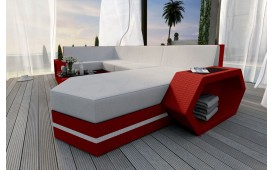 Designer Rattan Lounge Sofa CLERMONT XL V2 von NATIVO™ Möbel Österreich