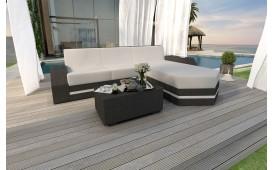Designer Rattan Lounge Sofa CLERMONT MINI V2 von NATIVO™ Möbel Österreich