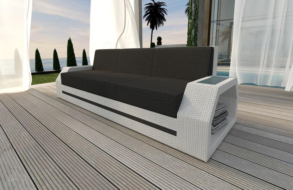 rattan sofa lounge clermont 3 sitzer modular von nativo m bel wien. Black Bedroom Furniture Sets. Home Design Ideas
