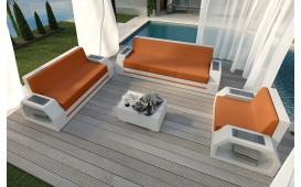 Designer Rattan Lounge Set CLERMONT 3+2+1 V2 von NATIVO™ Möbel Österreich