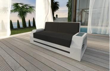 Rattan Sofa Lounge Clermont 2 Sitzer Modular Von Nativo Möbel Wien
