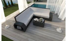 Designer Rattan Lounge Sofa CLERMONT CORNER V1