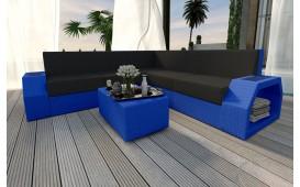 Designer Rattan Lounge Sofa CLERMONT CORNER V1 von NATIVO™ Möbel Österreich