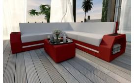 Designer Rattan Lounge Sofa CLERMONT CORNER