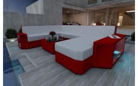 Designer Rattan Lounge Sofa AVENTADOR XXL V1 von NATIVO™ Designer Möbel Österreich