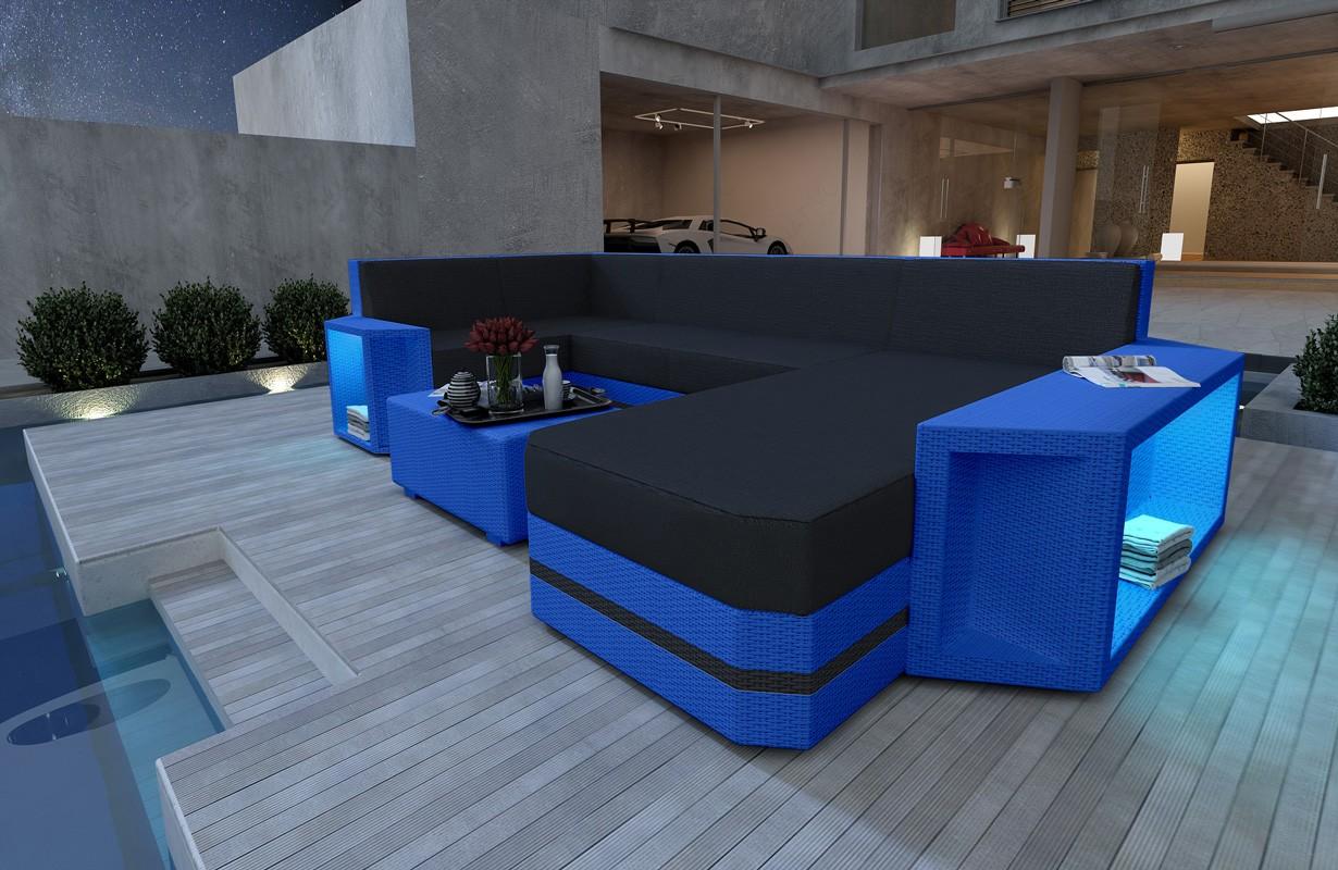 Rattan Sofa Lounge AVENTADOR XL V2 Modular von NATIVO Möbel WIEN