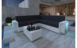 Designer Rattan Lounge Sofa AVENTADOR CORNER V1 von NATIVO™ Designer Möbel Österreich