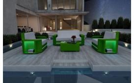 Designer Rattan Lounge Set AVENTADOR 2+1+1 V2 von NATIVO™ Designer Möbel Österreich