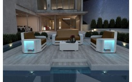 Designer Rattan Lounge Set AVENTADOR 2+1+1