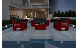 Designer Rattan Lounge Set AVENTADOR 2+1+1 V1 von NATIVO™ Designer Möbel Österreich