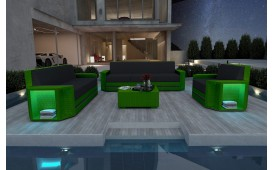 Designer Rattan Lounge Set AVENTADOR 3+2+1 V2 von NATIVO™ Designer Möbel Österreich