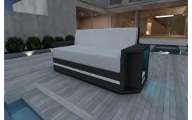 Designer Rattan Lounge Sofa AVENTADOR 2 Sitzer V2