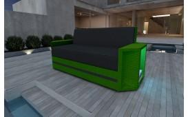 Designer Rattan Lounge Sofa AVENTADOR 2 Sitzer V2 von NATIVO™ Designer Möbel Österreich