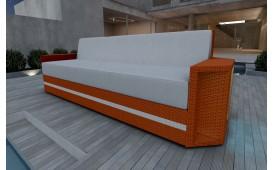 Designer Rattan Lounge Sofa AVENTADOR 3 Sitzer V2 von NATIVO™ Designer Möbel Österreich