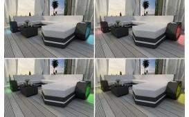 Designer Rattan Lounge Sofa CLERMONT CORNER V1 von NATIVO™ Designer Möbel Österreich
