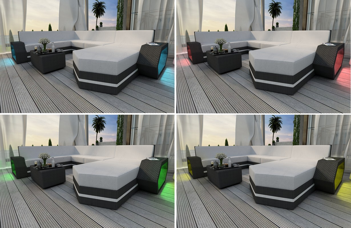 Rattan sofa lounge clermont 2 sitzer modular von nativo for Lounge mobel 2 sitzer