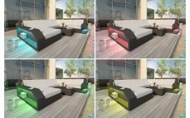 Designer Rattan Lounge Sofa MATIS 2 Sitzer von NATIVO™ Designer Möbel Österreich