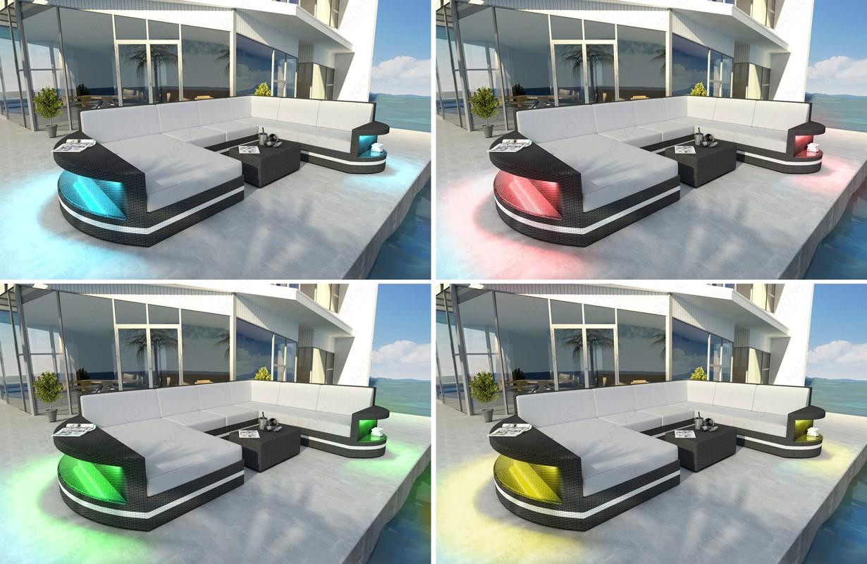 Designer Rattan Lounge Sofa Atlantis Sitzer V Von Nativo Designer Mbel  Sterreich With Rattan Lounge 2 Sitzer