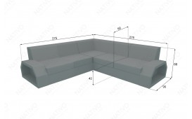 Designer Rattan Lounge Sofa CLERMONT CORNER V2 von NATIVO™ Designer Möbel Österreich