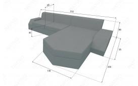 Designer Rattan Lounge Sofa CLERMONT MINI V2 von NATIVO™ Designer Möbel Österreich