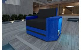 Designer Rattan Lounge Sofa AVENTADOR 1 Sitzer V2
